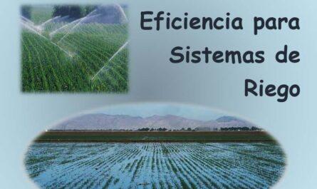 Manual del Cálculo de Eficiencia para Sistemas de Riego