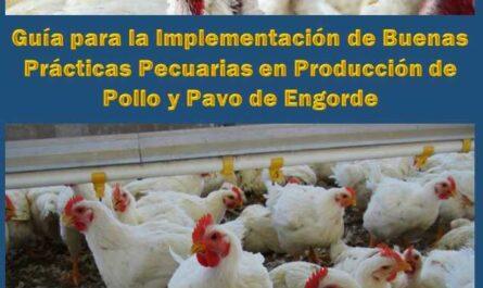 Guía para la Implementación de Buenas Prácticas Pecuarias en Producción de Pollo y Pavo de Engorde