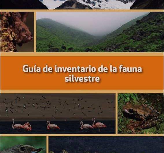 Guía de inventario de la fauna silvestre